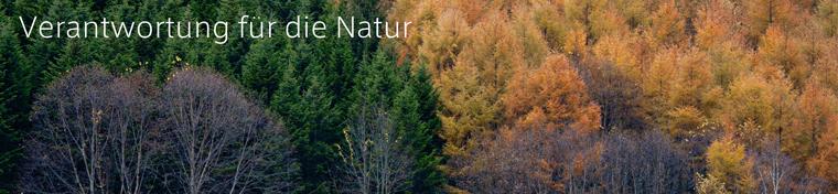 Verantwortung für die Natur